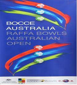 REMINDER: 10th Bocce Bowls Australia RAFFA OPEN Mixed Triples Australian Championship 2017
