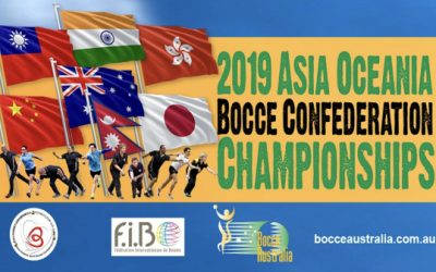 Asia Oceania Bocce Championships, Melbourne – Casa D'Abruzzo Club, Epping (3rd-5th May, 2019)