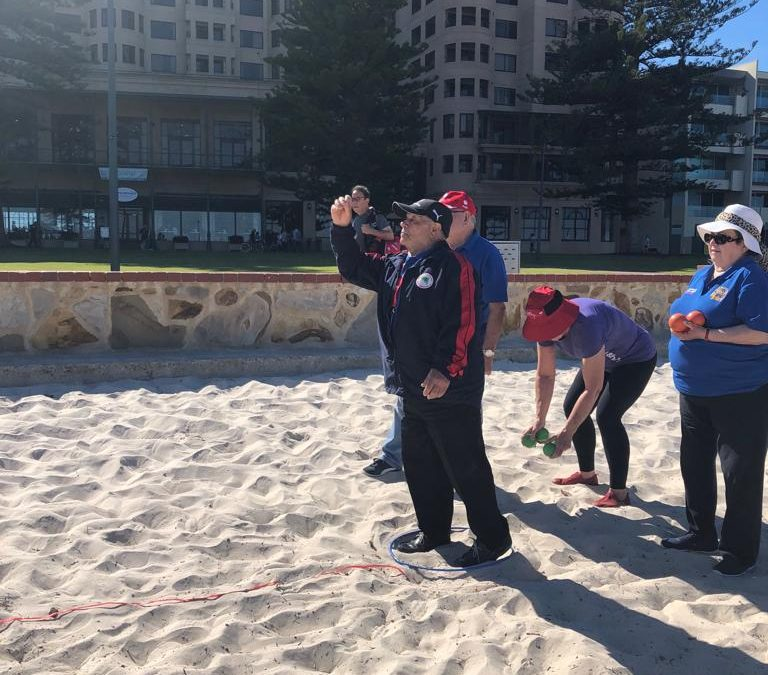 Come Play Bocce at Henley Beach in Jan 2020!