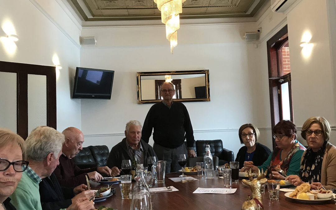 Bocce Christmas Lunch – 2019